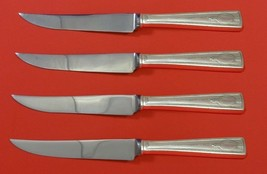 "Carthage by Wallace Sterling Silver Steak Knife Set 4pc HHWS  Custom Made 8 1/2"" - $289.00"