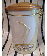 TIM HORTONS Coffee Tin Canister Souvenir Collector Hockey  # 6 Edition C... - $9.95