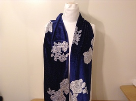 Velvet Floral Scarf by Magic Scarf Company image 1