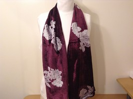 Velvet Floral Scarf by Magic Scarf Company image 4