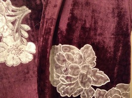 Velvet Floral Scarf by Magic Scarf Company image 5