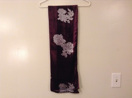 Velvet Floral Scarf by Magic Scarf Company image 6