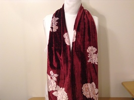 Velvet Floral Scarf by Magic Scarf Company image 8