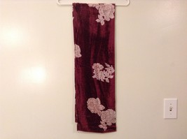 Velvet Floral Scarf by Magic Scarf Company image 9