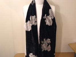 Velvet Floral Scarf by Magic Scarf Company image 12