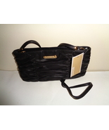 Michael Kors Genuine Leather Pleated Leather Handbag New With Tags - $72.99