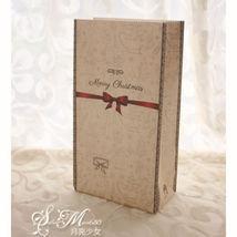 8 Pcs Kraft Paper Xmas Party Cookies Candy Present Gift Bag Luxury Chris... - €3,79 EUR