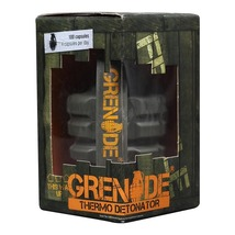 Grenade Thermo Detonator, 100 capsules Unflavoured - $89.00