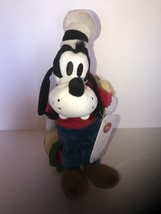 Disney Store Japan Goofy with Hot Dog Living in New York Plush New with ... - $11.75