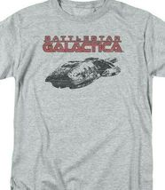 Battlestar Galactica t-shirt Retro 70's 80's Sci-fi TV series graphic tee BSG245 image 3