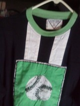 Shirt Unisex ULTRA PINK Pre-Own Excellent Cond. Lime Grn.Blk.White/Baseball - $10.64
