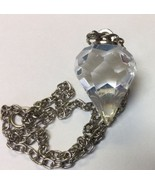 Clear Crystal 6 sided  Multifaceted Pendulum  Divination/Scrying - $5.86
