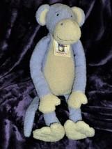 "Manhattan Toy 17"" Monkey 2000 Lavender Purple Plush Peabodies Marty NEW - $59.39"