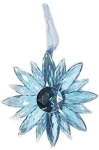 Crystal Expressions Acrylic 5 Inch Small Jewel Flower Ornament Suncatche... - $8.91