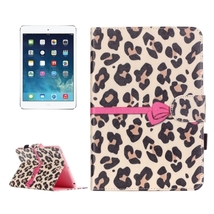 For iPad Mini 3/2/1 Leopard Flip Leather Case with Holder, Card Slots & ... - $14.09