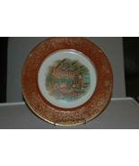 Vintage Plate  23 K Gold Trim Imperial Salem China Company  - $25.00