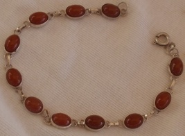 Brown maskit bracelet - $22.00