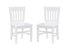 Linon White Side Set of 2 Darlin Kids Chair - $188.05