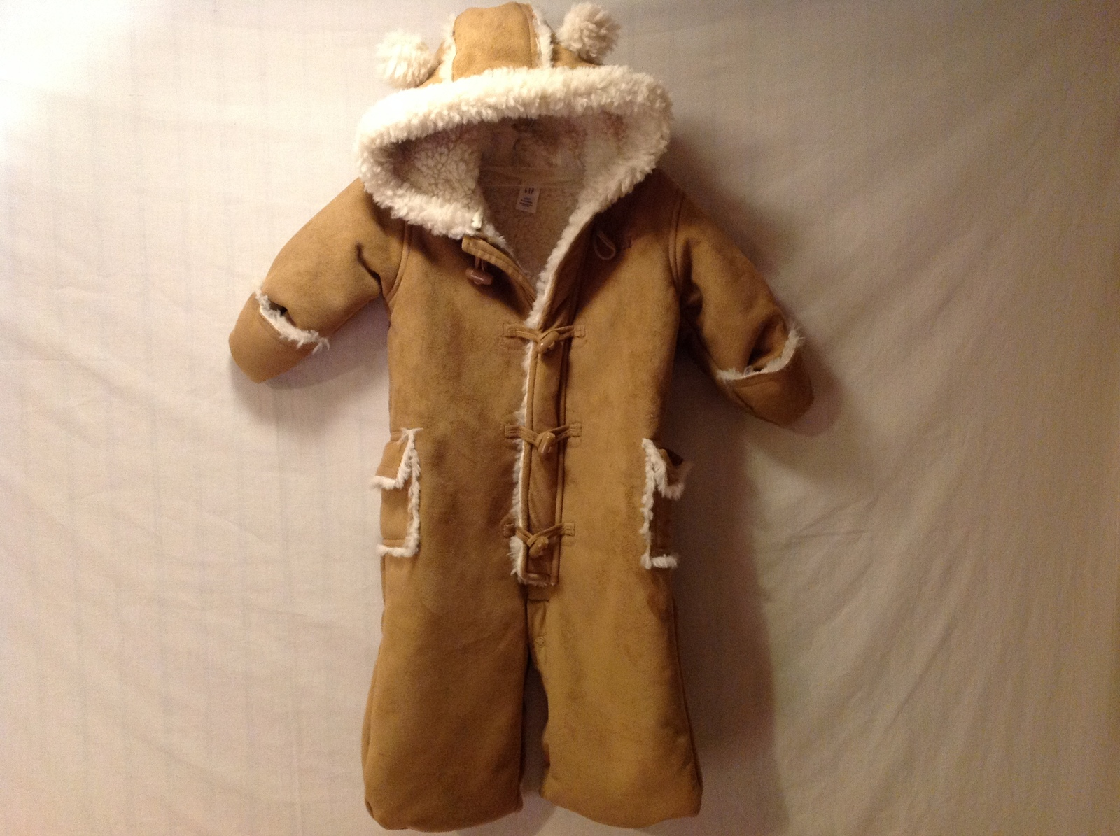 Baby Gap One Piece Snow Suit, Size 3-6 Months