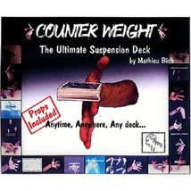 Counter Weight Mathieu Bich Trick DVD and gimmick magic trick stage magic - $24.74
