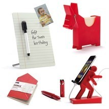 Office Desk Set Lot 5 Design BOSS Desk Gifts Memo Stand Mobile Dispaly P... - $98.00