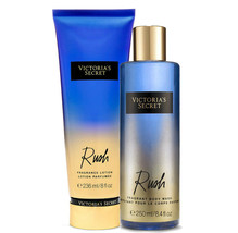 Victoria's Secret Rush Fragrance Lotion + Fragrant Body Wash Duo Set - $35.23