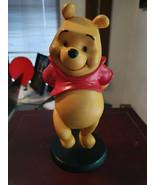 Extremely Rare! Walt Disney Winnie The Pooh Walking Figurine Statue - $267.30