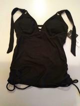 Hula Honey Black Swimwear Top Size XS image 1