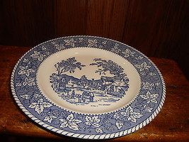 Homer Laughlin Shakespeare Country 4 Dinner Plates Stratwood Collection - $19.64