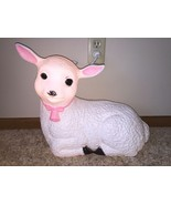 "Vintage Union Easter 18"" Lighted Blow Mold Lamb... - $69.28"