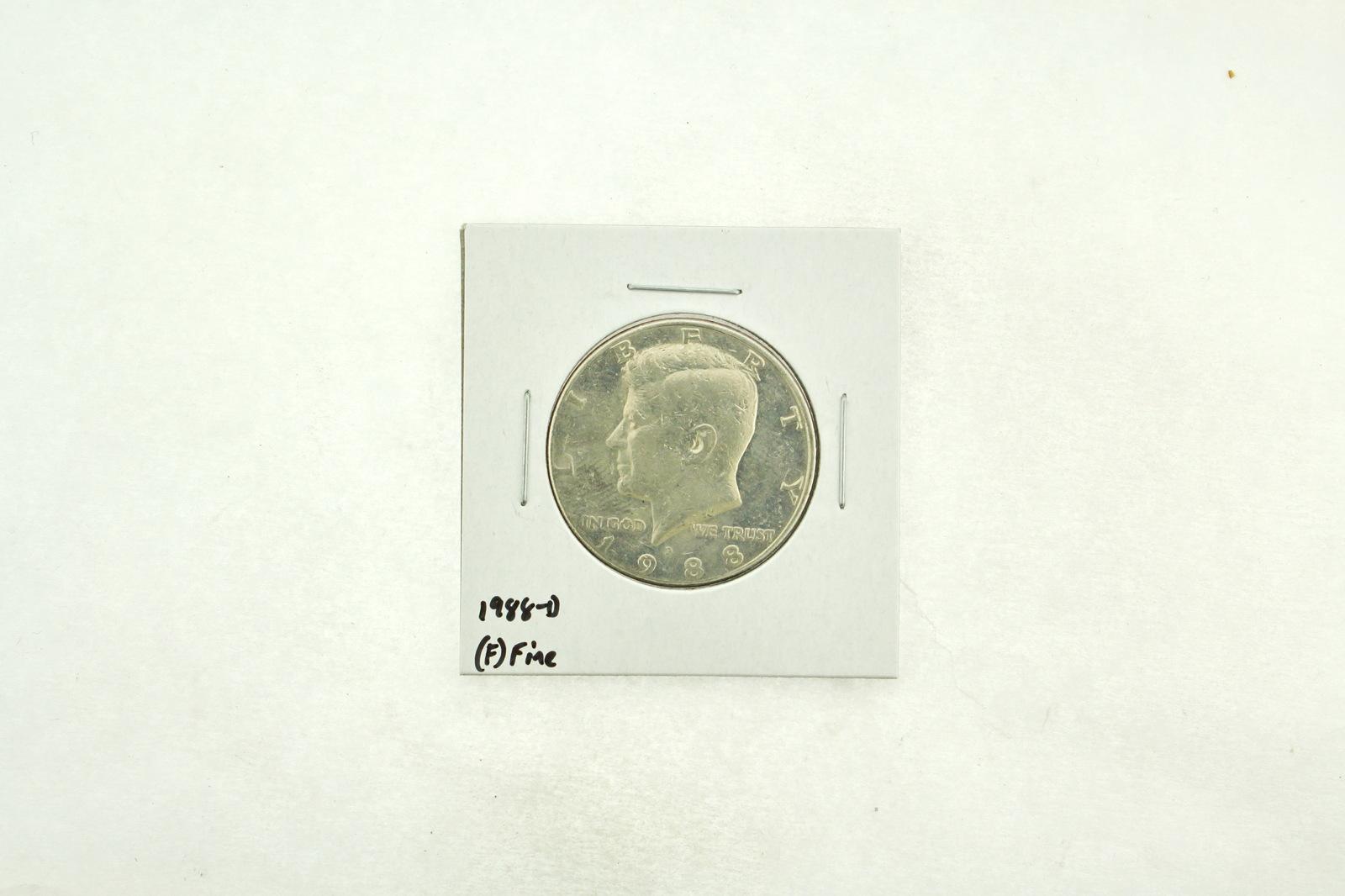 1988-D Kennedy Half Dollar (F) Fine N2-3817-3