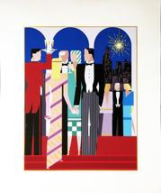 "Giancarlo Impiglia ""Five Arches II"" 1984 - S/N Serigraph - Retail $1.6K ... - $850.00"