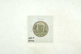 1989-D Kennedy Half Dollar (F) Fine N2-3824-1 - $4.99