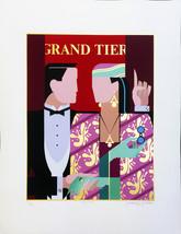 "Giancarlo Impiglia ""Grand Tier"" 1984 - S/N Serigraph - Retail $1.6K - COA - $800.00"