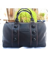 Longchamp Parade - Black Leather Speedy Style Bag - Too Cute! - $385.00