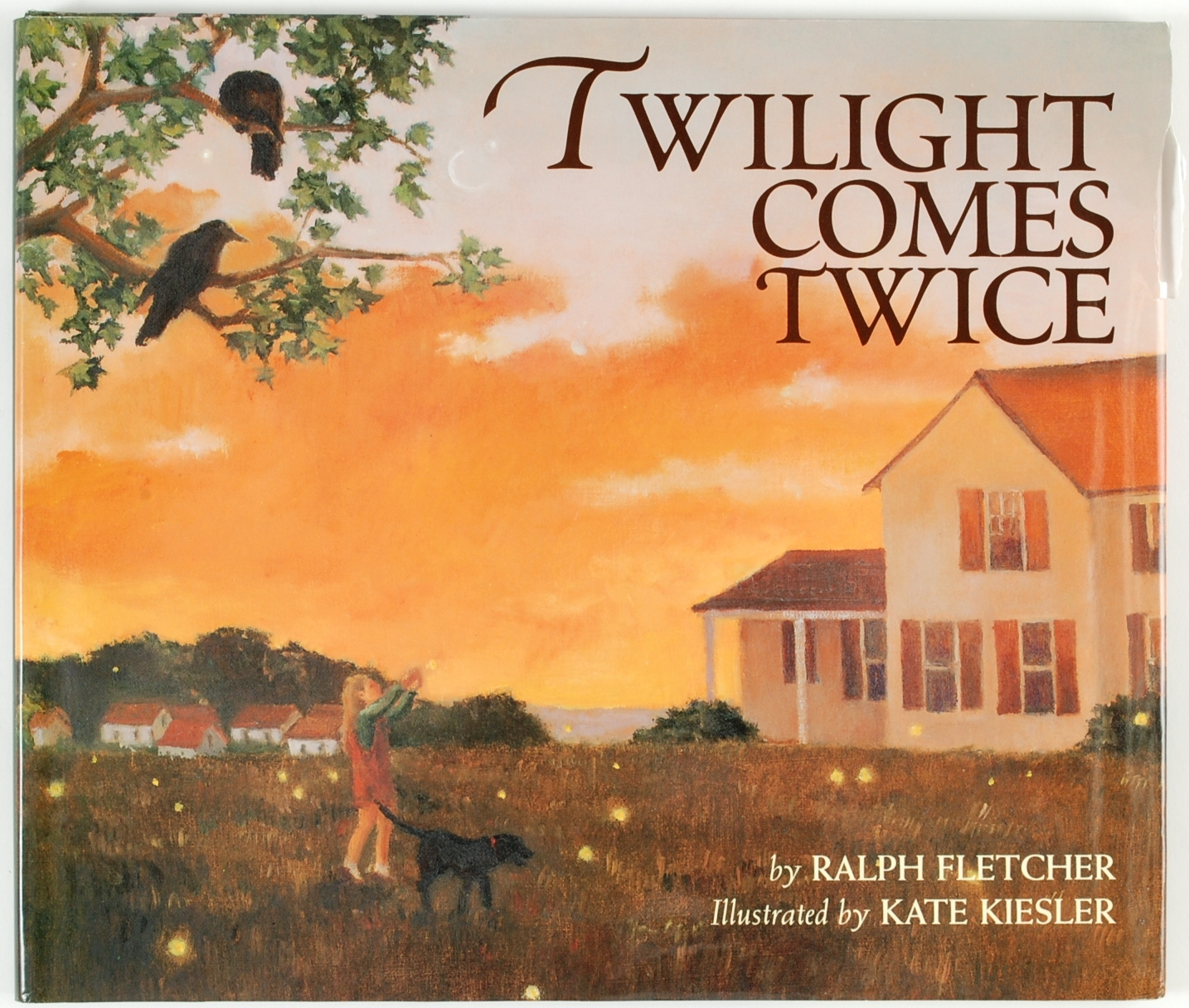 Twilight Comes Twice by Ralph Fletcher Kate Kiesler Illustrator 1997 Signed