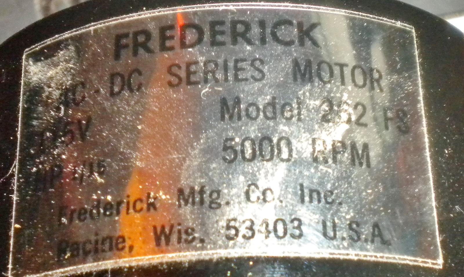 Frederick Sewing Machine Motor Kit #2X420 NOS Motor, Pedal, Belt & Duplex Plug image 4