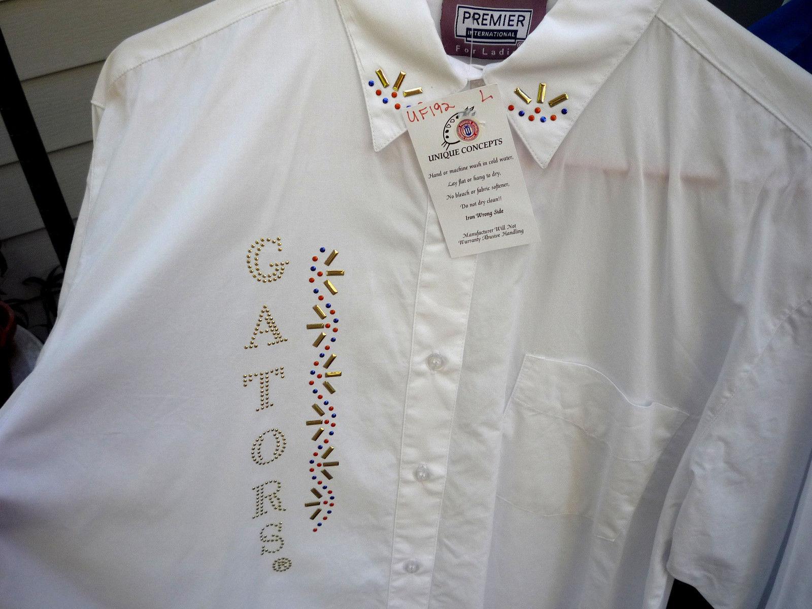 6c38190e6 Florida Gators Stud Long Sleeve Dress Shirt and similar items