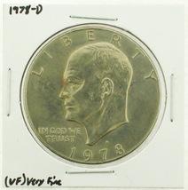 1978-D Eisenhower Dollar RATING: (VF) Very Fine (N2-4263-14) - £2.37 GBP