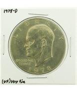 1978-D Eisenhower Dollar RATING: (VF) Very Fine (N2-4263-14) - $3.00