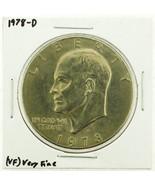 1978-D Eisenhower Dollar RATING: (VF) Very Fine (N2-4263-18) - €2,72 EUR