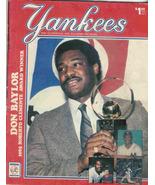 YANKEES 1985 Scorebook and Souvenir Program - $9.95