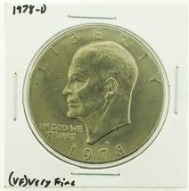 1978-D Eisenhower Dollar RATING: (VF) Very Fine (N2-4263-23) - £2.37 GBP