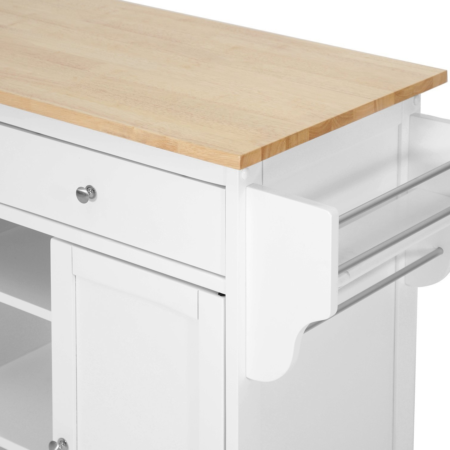 Kitchen Cabinets On Wheels: Modern Kitchen Island Cart, Rack, Shelve, Wheel,Countertop
