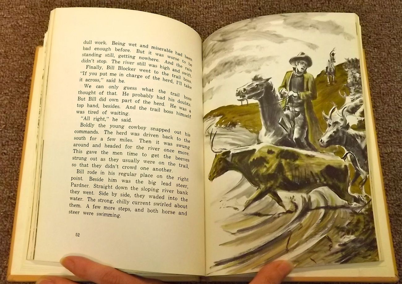 When Cowboys Rode the Chisholm Trail by James McCague