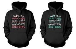 Cute BFF Matching Hoodies for Best Friends - God Made Us Best Friends - $50.99+