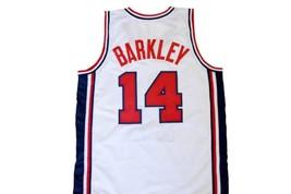 Charles Barkley #14 Team USA Men Basketball Jersey White Any Size image 5
