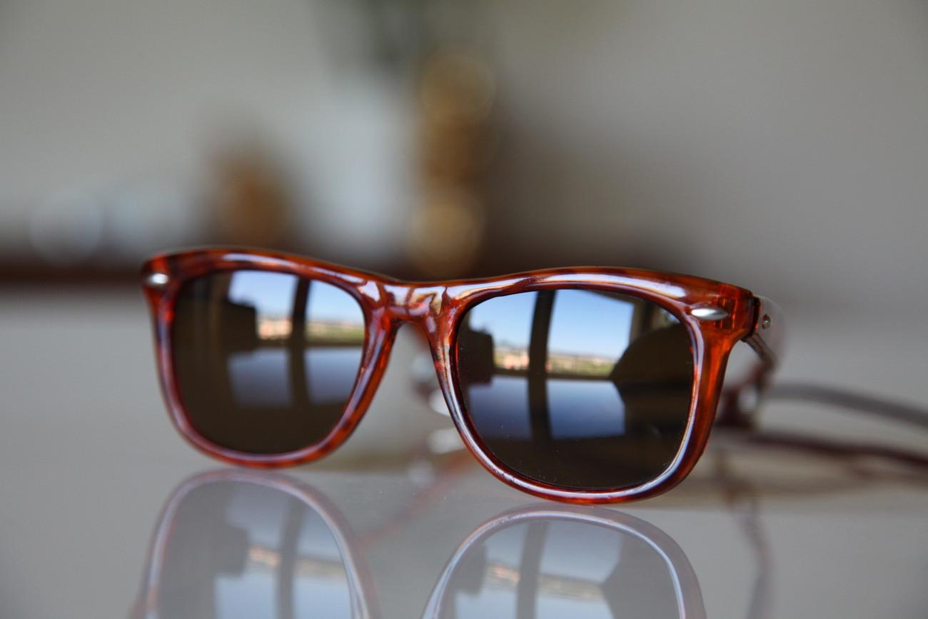 Vintage Tortoise Sunglasses Golden Brown/ Brown/ Chrome/ Golden Brown Lenses