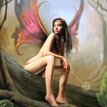Magickal Fairy Princess Lizette Brings Joy Good Luck Wherever She Goes! haunted  - $125.00