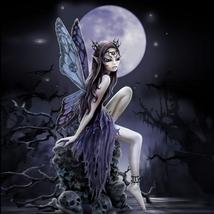 Magick Midnight Moon Blessings Fairy Princess Mya Makes Dreams Reality! haunted  - $70.00